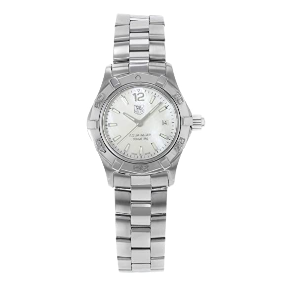 a23e7103bbb Image Unavailable. Image not available for. Color  Tag Heuer Aquaracer  Quartz Male Watch WAF1414.BA0823 (Certified Pre-Owned)