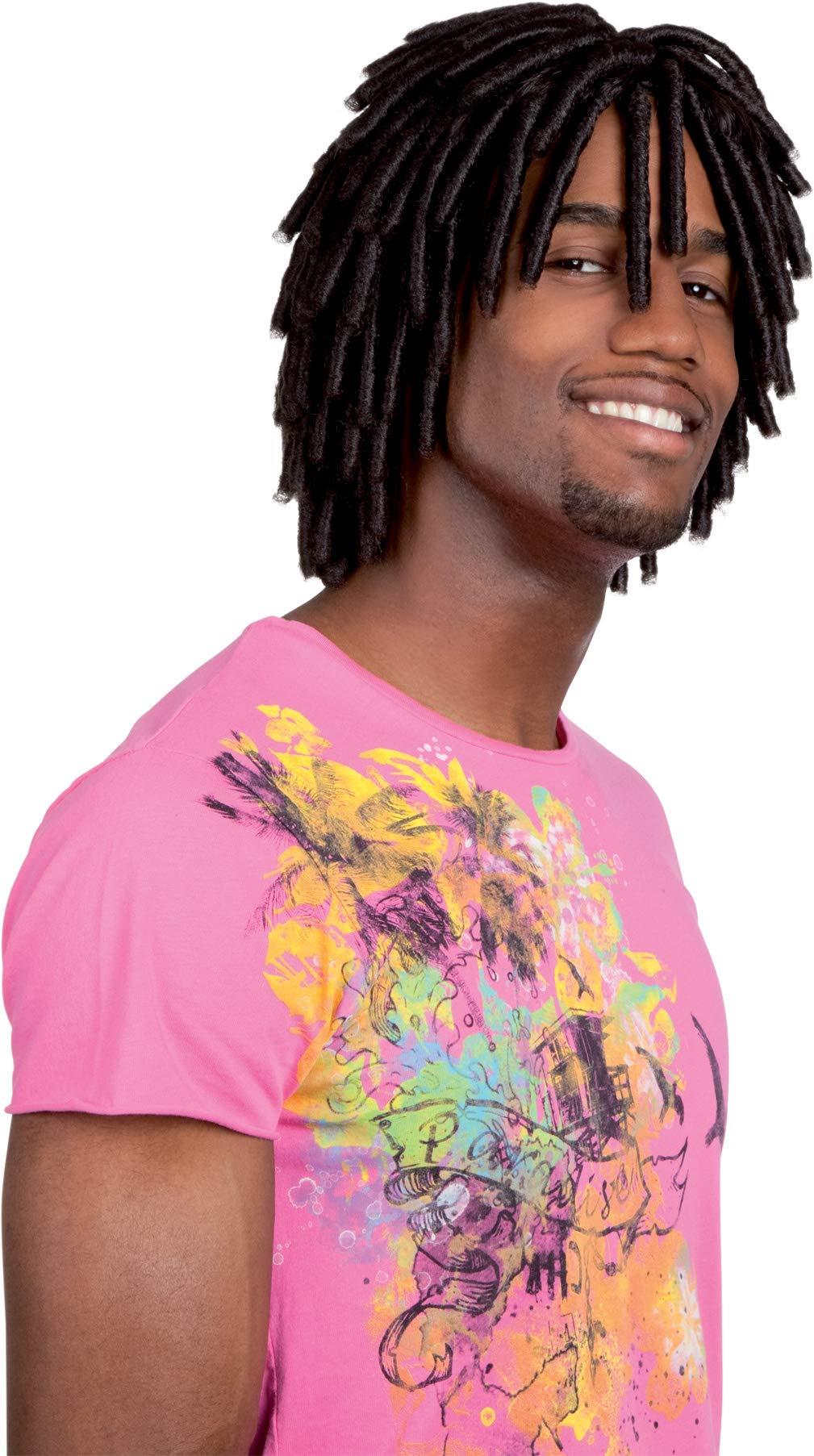 Boland 86391 Levi Jamaican Short Dreadlock Wig by Boland