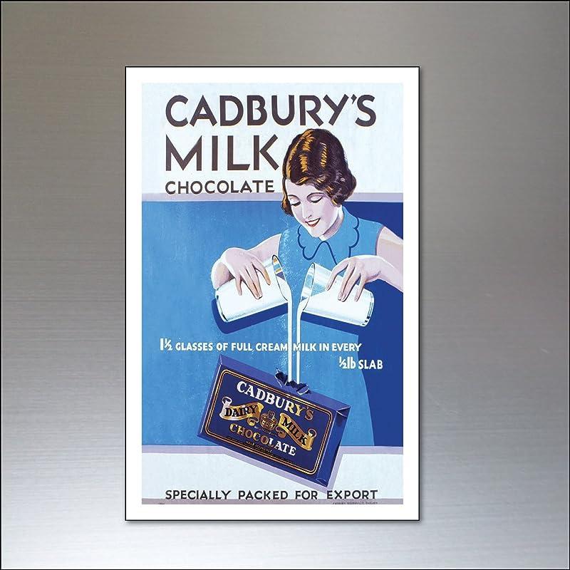 Imanes de refrigerador chocolate vintage forman Inglaterra conjunto de 9 imanes de nevera: Amazon.es: Handmade