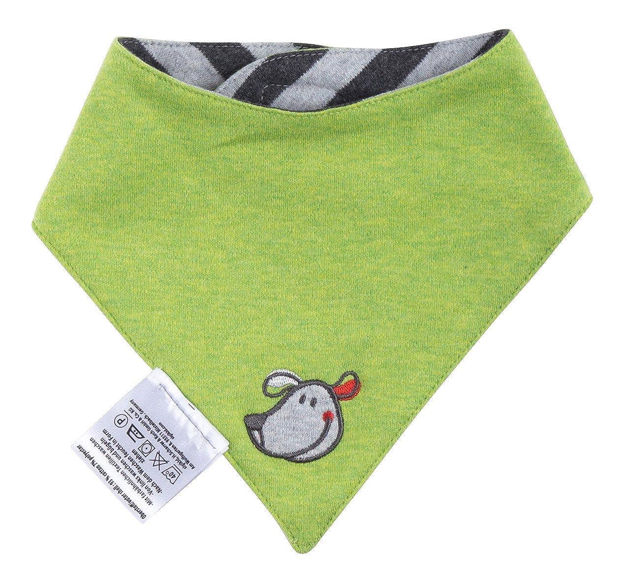 Sigikid Baby Boys' Wendehalstuch Neckerchief Baby Neckerchief Grey (Melange ABK102BL 81) One Size 114316