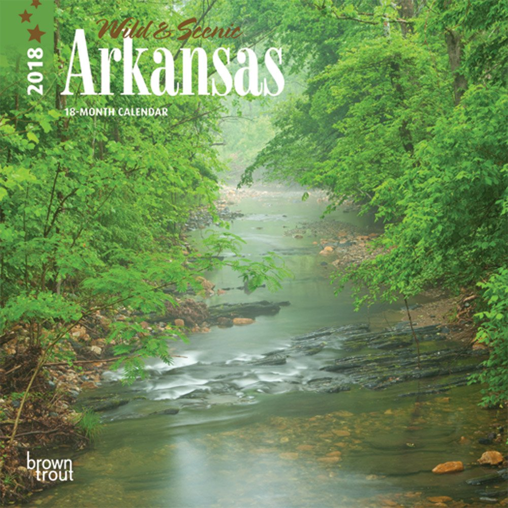 Read Online Arkansas, Wild & Scenic 2018 7 x 7 Inch Monthly Mini Wall Calendar, USA United States of America Southeast State Nature pdf epub