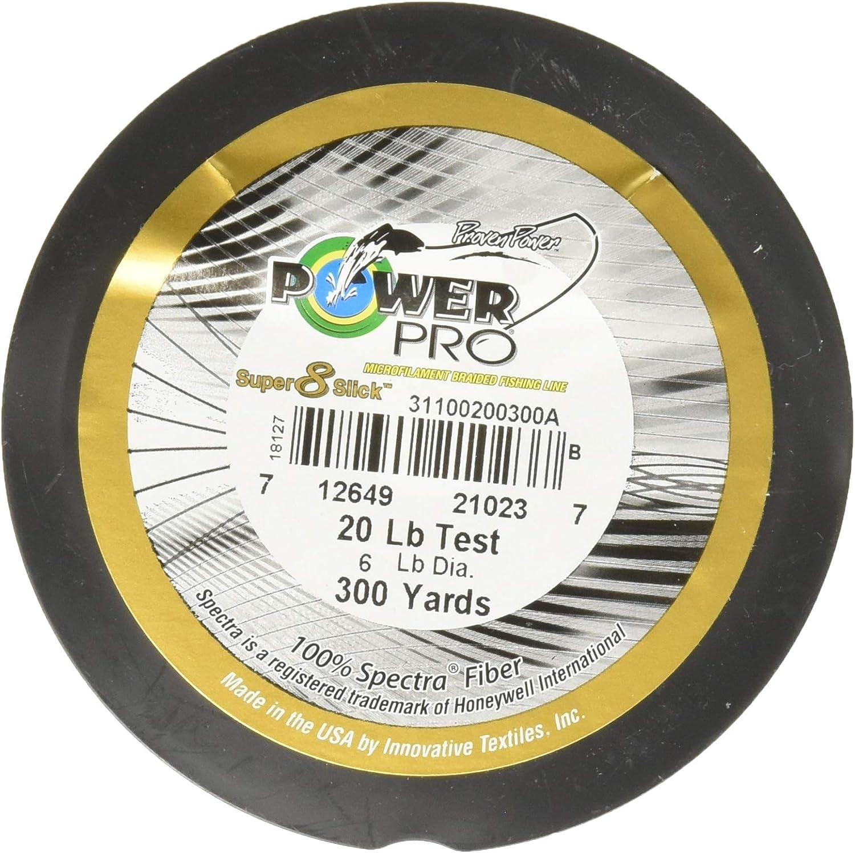 Power Pro Super 8 Slick V2 Moss Green 20 lb 300 yards
