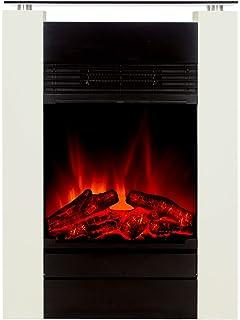 High Quality El Fuego Elektrokamin Mit Täuschend Echtem Flammeneffekt B, 1 Stück, Tessin  Weiß