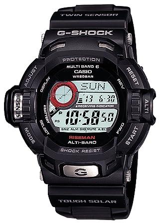 6aafc54054 [カシオ]CASIO 腕時計 G-SHOCK ジーショック RISEMAN タフソーラー 電波時計 MULTIBAND6