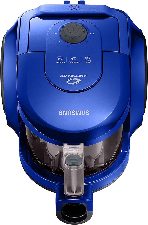 Samsung Aspirazione VCC43U1V3D/XET Aspiradora sin Bolsa, Doble cámara Espiral, Cepillo 2 en 1 para alfombras y Suelos 170 W, Azul Intenso: Amazon.es: Hogar
