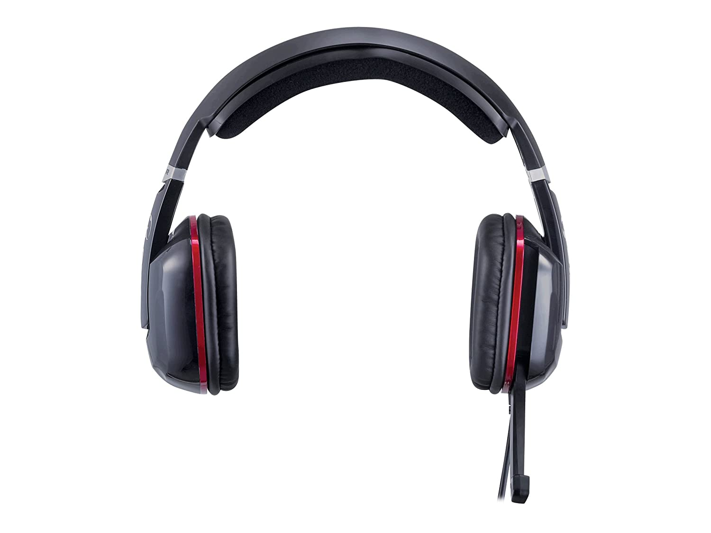 Genius HS-G700V Binaurale Diadema Negro auricular con micró fono - Auriculares con micró fono (PC/Juegos, Binaurale, Diadema, Negro, Giratorio, Alá mbrico) Alámbrico) 31710043101