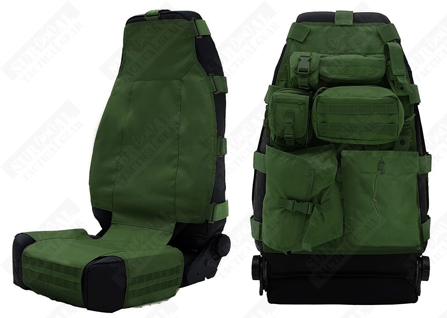 Molle Gear Seat Covers
