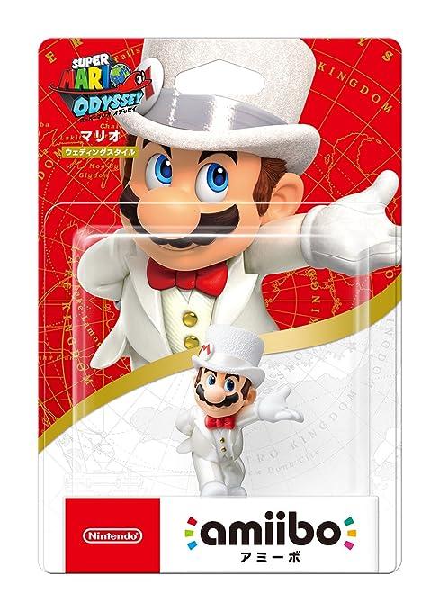 Amazon.com: amiibo Mario 【Wedding Style】 (Super Mario Series) (Original Version): Video Games