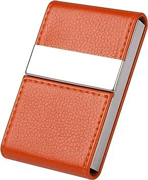 Flintronic Visitenkartenetui Hochwertiges Edelstahl Kartenetui Kreditkartenetui Aus Edelstahl Multi Kartenetui Personalausweis Etuis