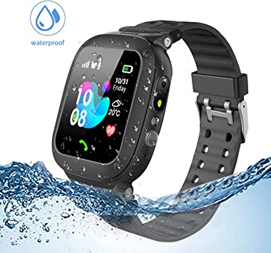 Jslai Niños Smartwatch Imprägniern,Inteligente Relojes Telefono ...