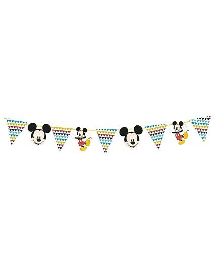 COOLMP - Lote de 12 guirnaldas de Papel Premium Mickey 100 x ...
