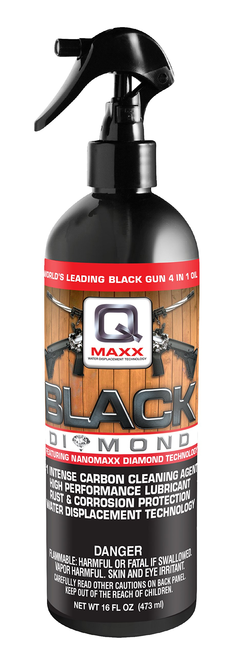 QMAXX Black Diamond Trigger Spray, 16 OZ. by QMAXX