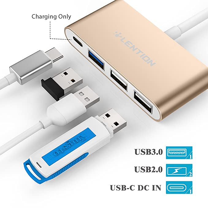Memory Cards & Ssd Gentle 3 In 1 Type-c Card Reader Micro Usb Type-c Flash Drive Adapter Connector High Speed Tf Memory Card Reader For Macbook Phone Otg Elegant Appearance