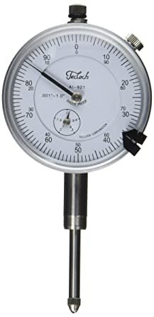 "Noga DG61003 Magnetic Base /& Teclock 1/"" Dial Indicator Set"
