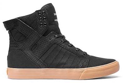 Supra Skytop Women s Shoes Footwear Size 9 Black Gum 2f41705699