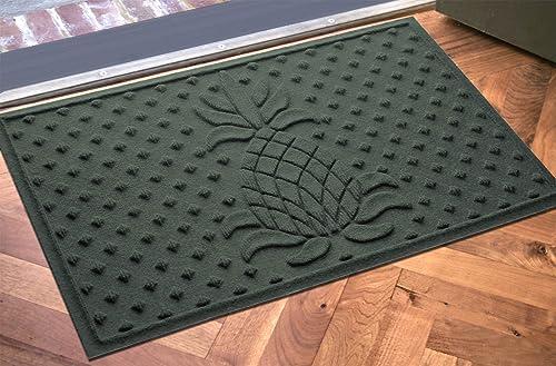 AquaShield Diamond Pineapple Mat, 2 by 3-Feet, Evergreen