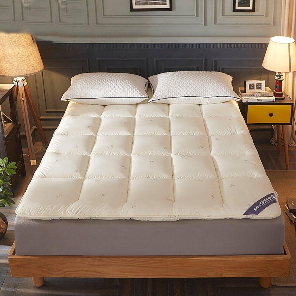 DULPLAY - Almohadillas de colchón de Terciopelo con Plumas ...