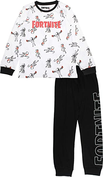 Epic Games Fortnite Boys Gaming Long Pyjamas Knight Kids Cotton