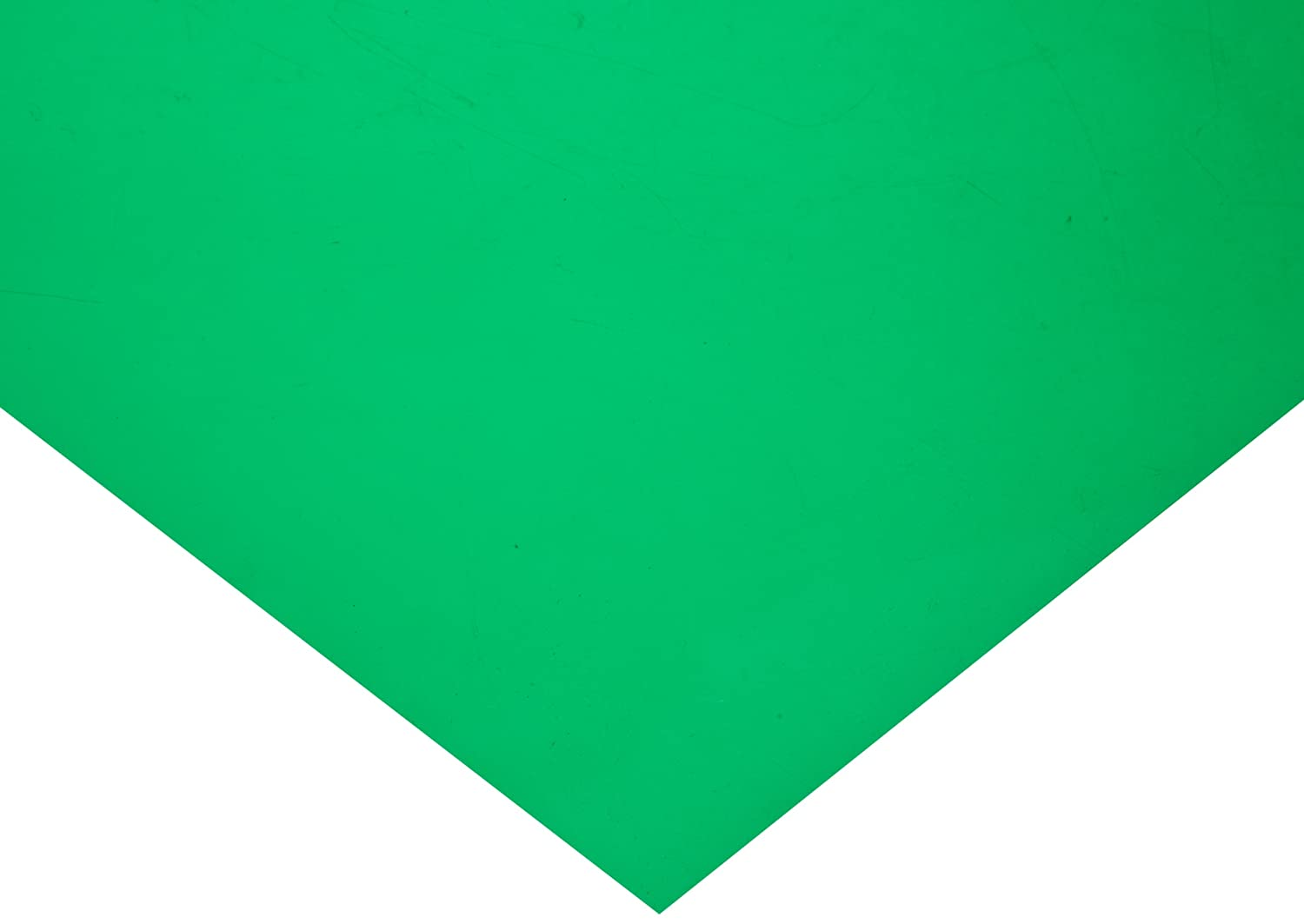 20 Length 10 Width Green Polyester Shim Stock Flat Sheet 0.003 Thickness Pack of 1