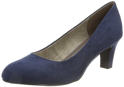 22420, Escarpins Femme, Bleu (Navy), 35 EUTamaris