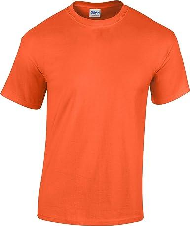 Gildan hombre algodón grueso camiseta: Amazon.es: Ropa y accesorios
