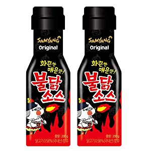 [Samyang] Buldark Spicy Chicken Roasted Sauce 200g×2 / Korean food / Korean sauce / Asian dishes (overseas direct shipment)