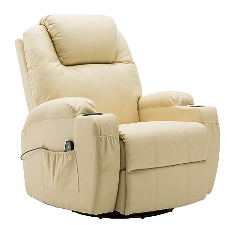 Amazon.com: Moderna silla de masaje reclinable con vibración ...
