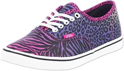 2c32b0237b Image Unavailable. Image not available for. Color  Vans Unisex Authentic Lo  Pro Cheetah Zebra ...