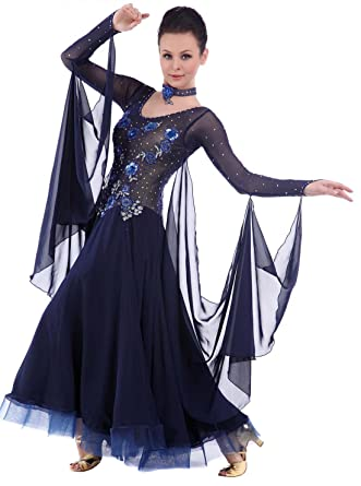 f215075fde57 Amazon.com: Smarts Dance Custom Made Ballroom Dress,Balroom Dance ...