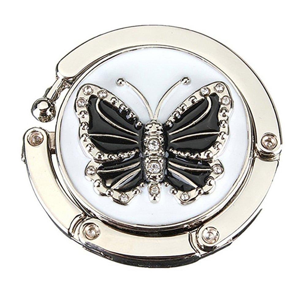 Mode Papillon Beetle pliable Cintre support Crochet de table pour sac à main–1Amesii 1