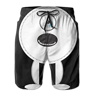 1edae8cd60 Image Unavailable. Image not available for. Color: Newest One Eye Monster  Men's Swim Trunks ...