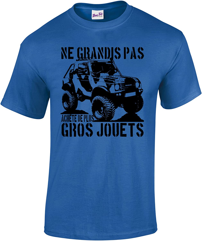 Bang Tidy Clothing T-Shirt Homme Ach/ète De Plus Gros Jouets 4x4 4wd #3