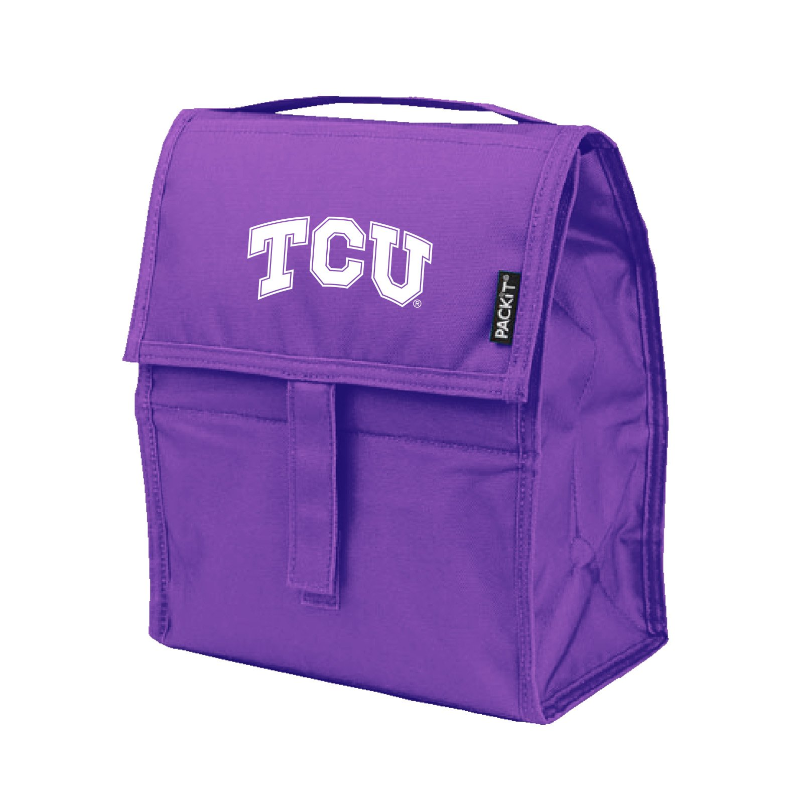NCAA TCU Horned Frogs Packit Freezable Lunch Bag, Purple
