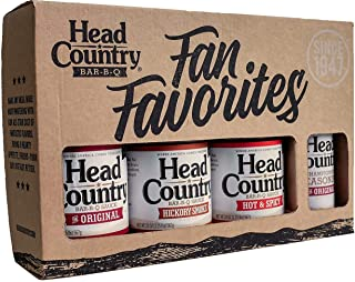 product image for Head Country Bar-B-Q Combo Pack Assorted Flavors