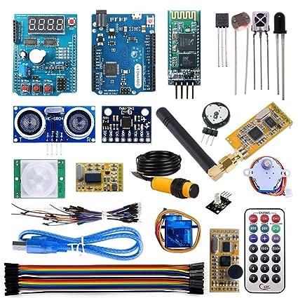 Amazon com: Shanhai SH-ADKIT06 Arduino Multi-Function Shield