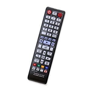 New AK59-00172A Replace Remote Control AK5900172A fit for Samsung Blu-Ray Disc DVD Player BD-F5700 BD-J5100 BD-J5900 BD-J5700 BD-E5700 BD-E6500 BD-EM57 Bluray Blu Ray Home Theater Sound System