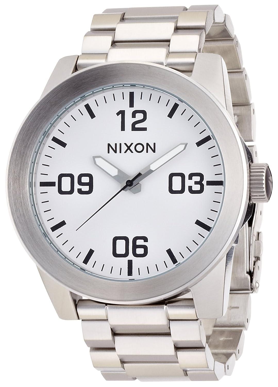 [ニクソン]NIXON CORPORAL SS: WHITE NA346100-00 メンズ 【正規輸入品】 B007LNQKI0