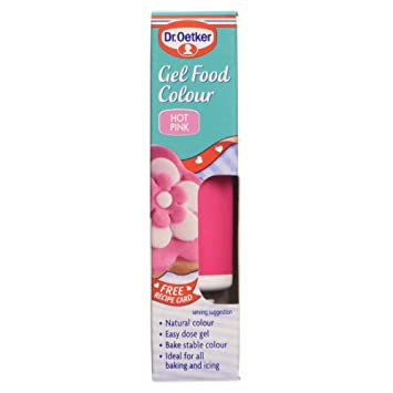 Amazon.com : Dr. Oetker Gel Food Colour Hot Pink (10g) : Food ...