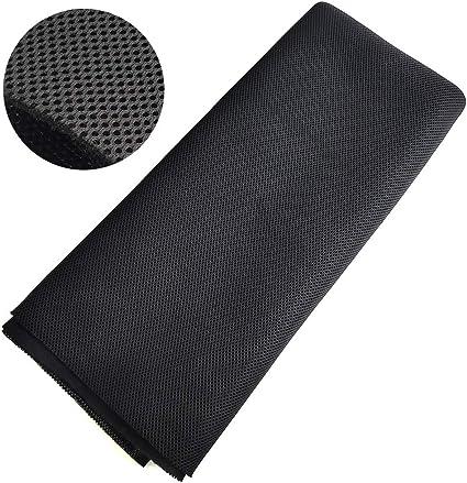 Speaker Grill Cloth Stereo Mesh Fabric for Speaker Repair, Black - 10 x 10  in / 110 x 10 cm