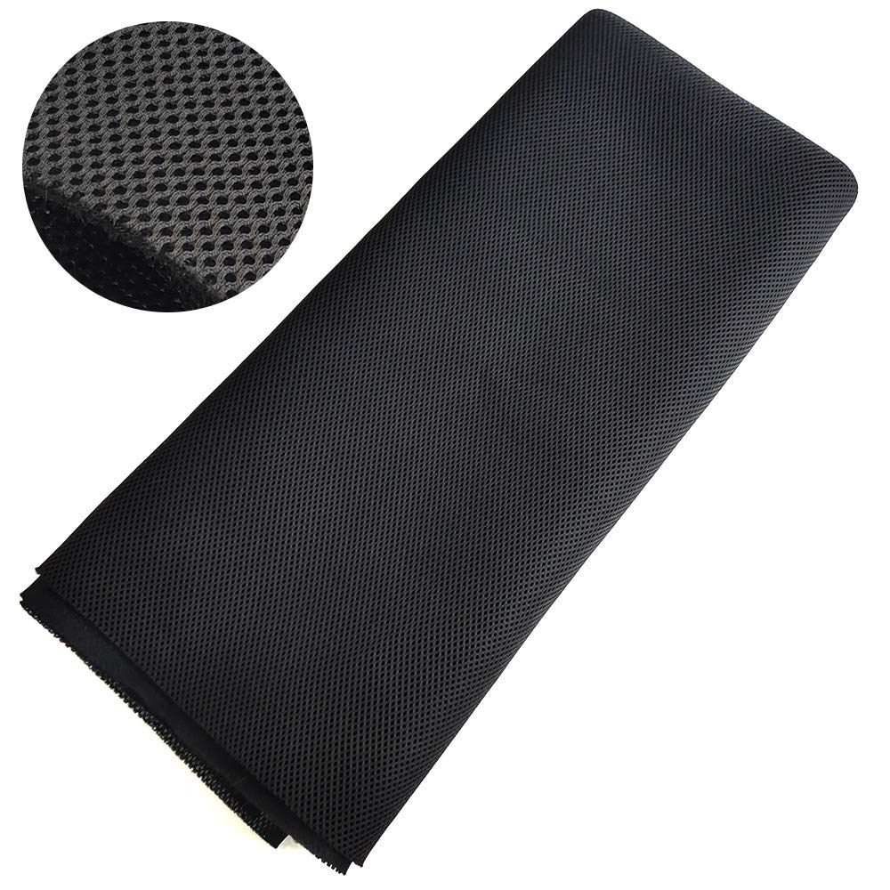 Buy NOMACY Speaker Grill Cloth Stereo Mesh Fabric for Speakers Repairing  (55 x 40 Inches/140 x 100 cm; Black) Online at Low Prices in India -  Amazon.in