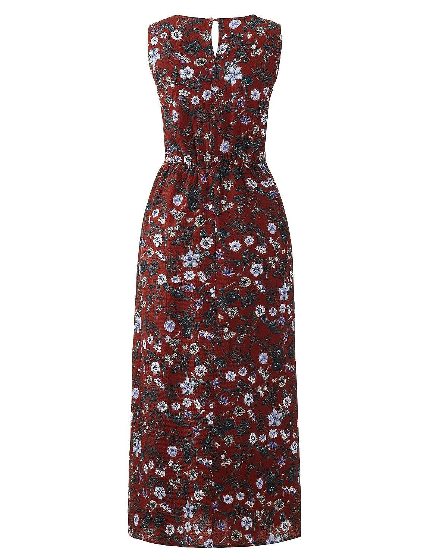5ed02ed0546e2 Regna X Women Sleeveless Maxi Midi Party Casual Sexy Dress (we Have Plus  Sizes) at Amazon Women s Clothing store