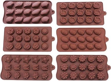 Nouveauté moule en silicone Plateau Chocolat Moule Gâteau Baking Craft Jelly Ice Jouet Moules
