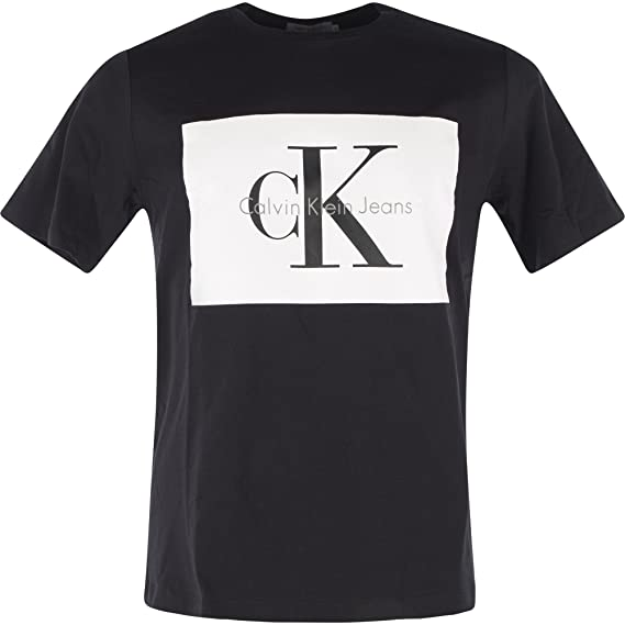 3e0464b68cc9 Calvin Klein Jeans J30J307427 TIKIMO 2 T-Shirt Men: Amazon.co.uk: Clothing