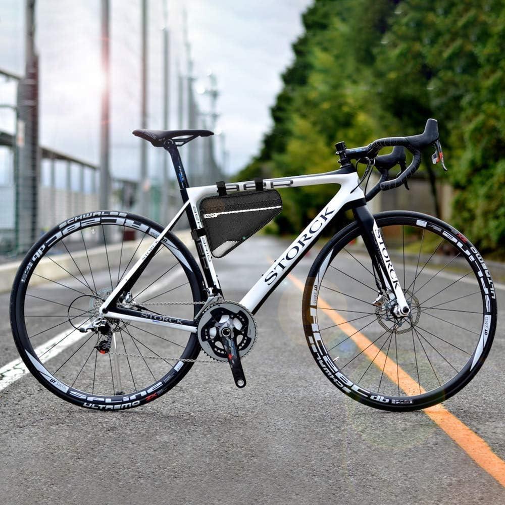 AYUEA Bolsa Reflectante de Almacenamiento para Bicicleta, Bolsa de ...
