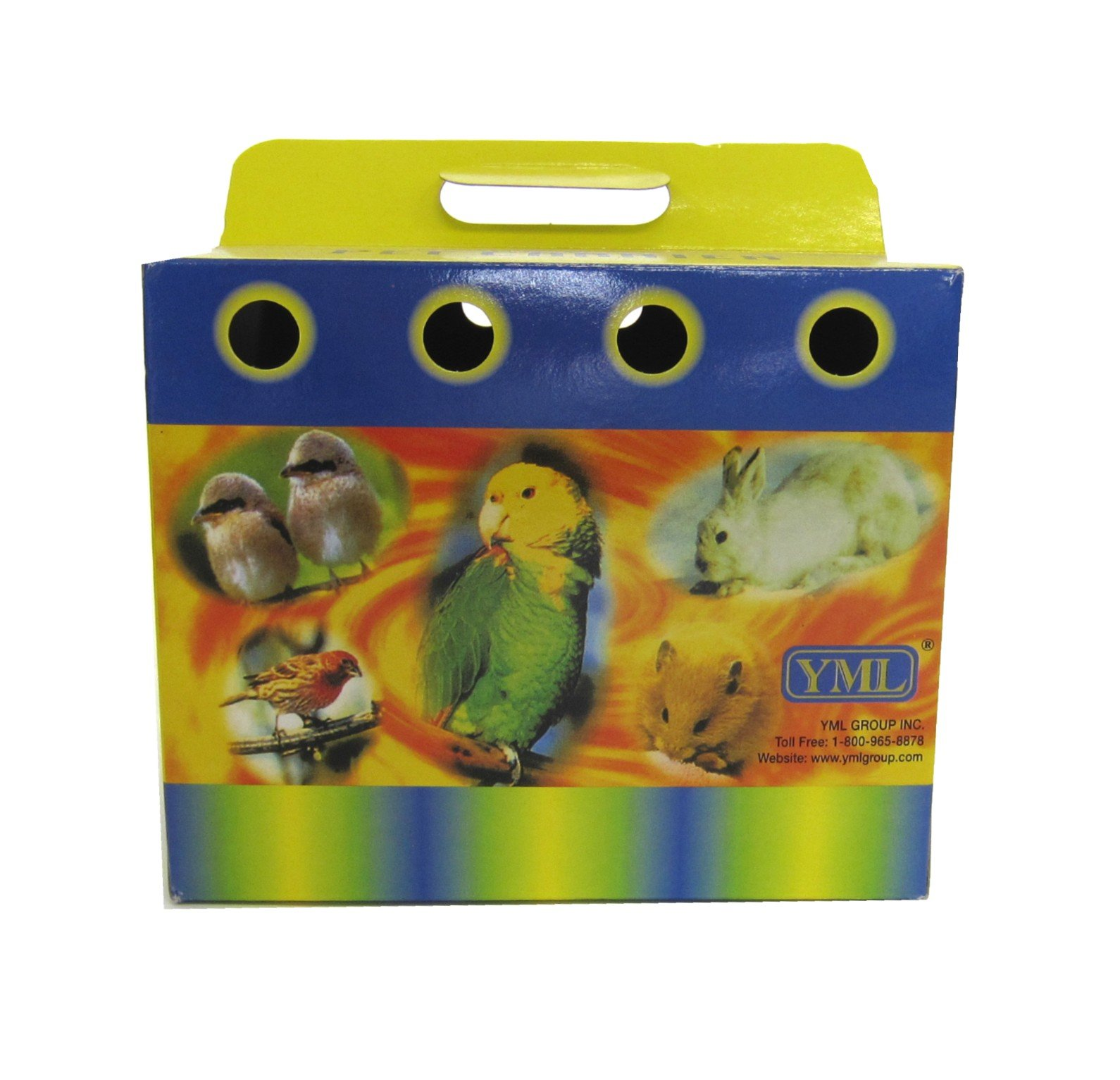 YML Cardboard Carrier for Small Animals or Birds, Medium, Lot of 100