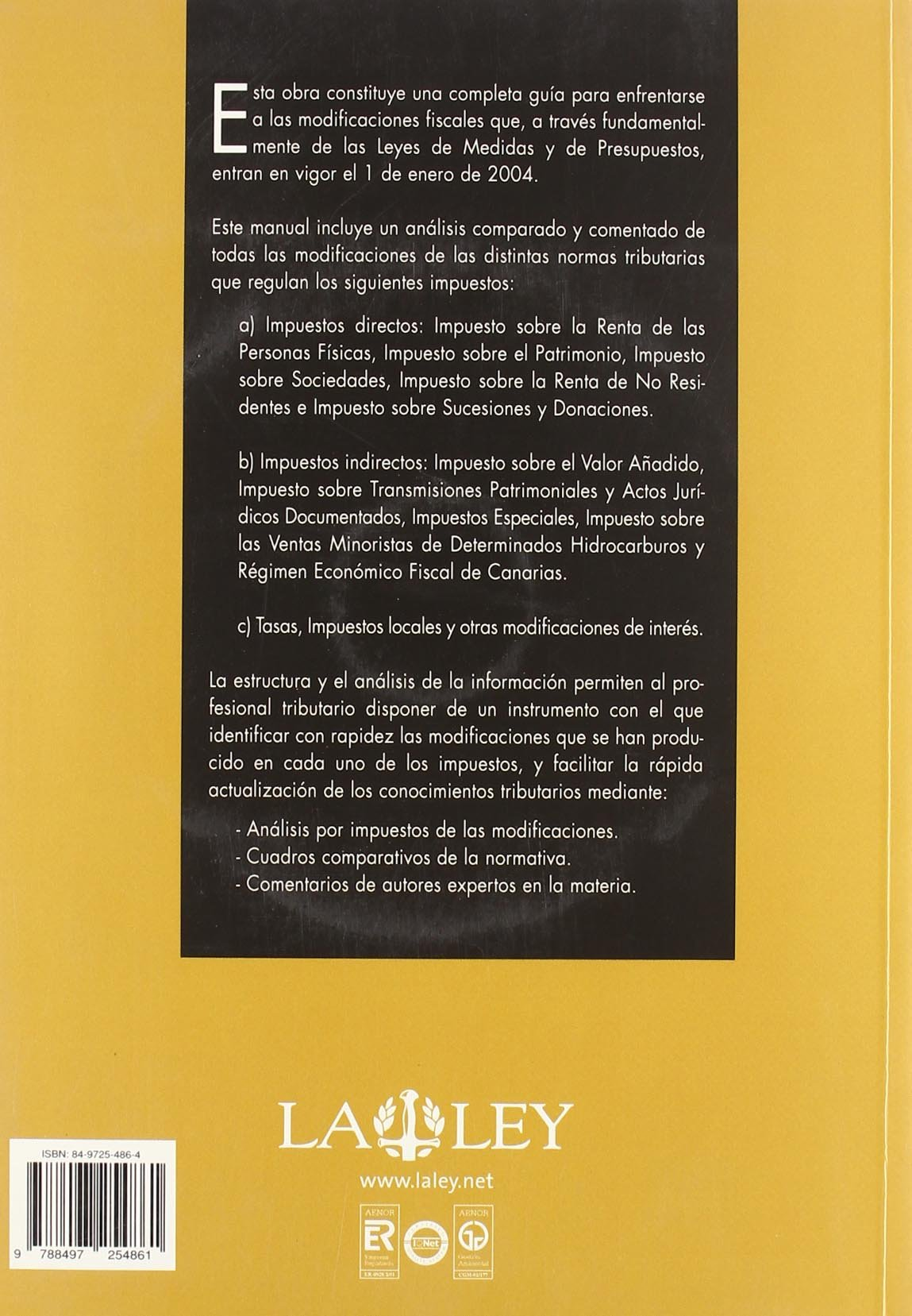 NOVEDADES FISCALES 2004.(INCLUYE CD-R).: 9788497254861: Amazon.com: Books