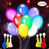 AISIGE Palloncini led per feste per Ideale per feste, San Valentino, compleanni e decorazioni di nozze, riempibile con elio, aria
