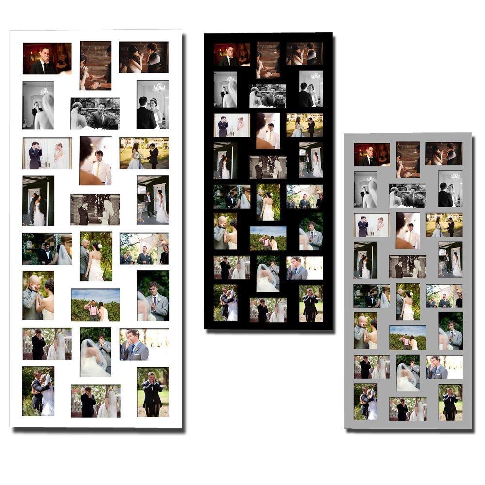 Amazon.de: 1x Bilderrahmen Fotogalerie Foto Collage Galerie Holz für ...