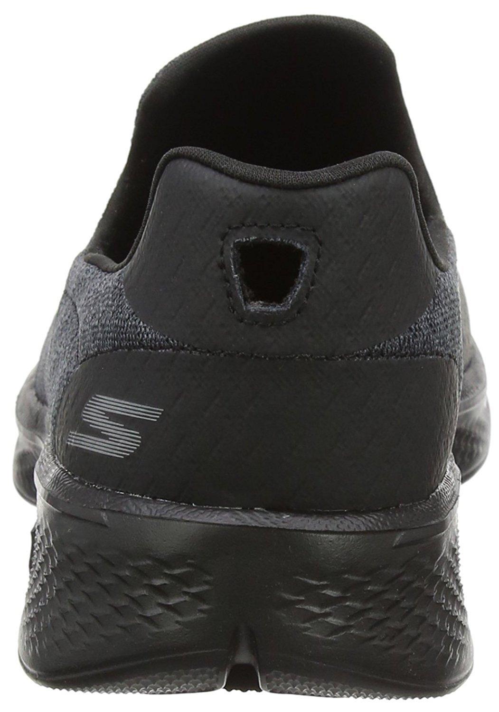 Skechers Performance Women's Go Walk 4 Pursuit Walking Shoe B07CQZJYT4 6 B(M) US|Black/Black