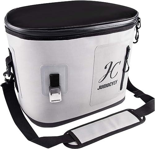 Insulated Soft Cooler Bag 30 Cans Leak-Proof Soft Pack Cooler Tote Bag Waterproof Insulated Soft Sided Cooler